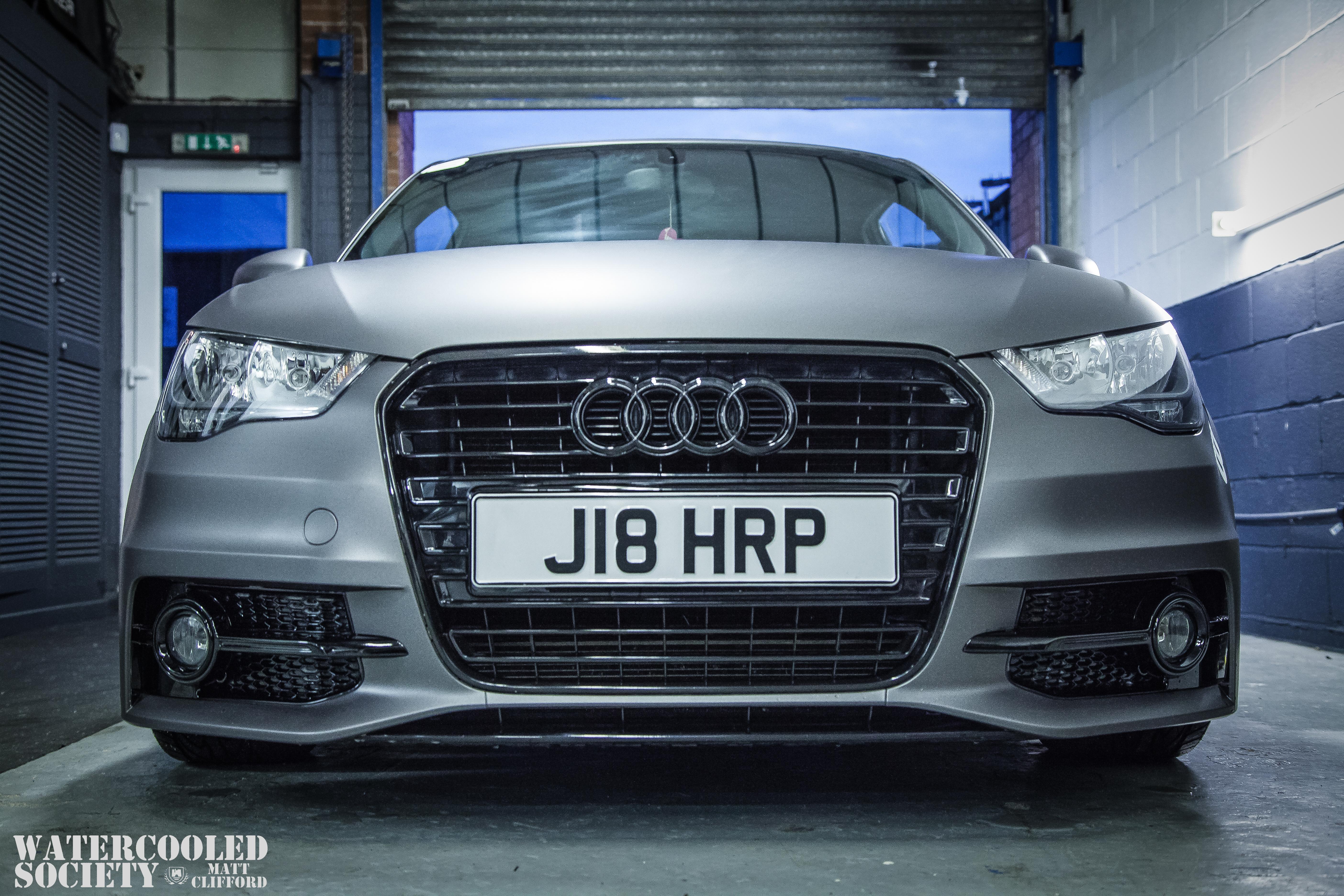 James Harpers Audi A MATT MEDIA - Harper audi